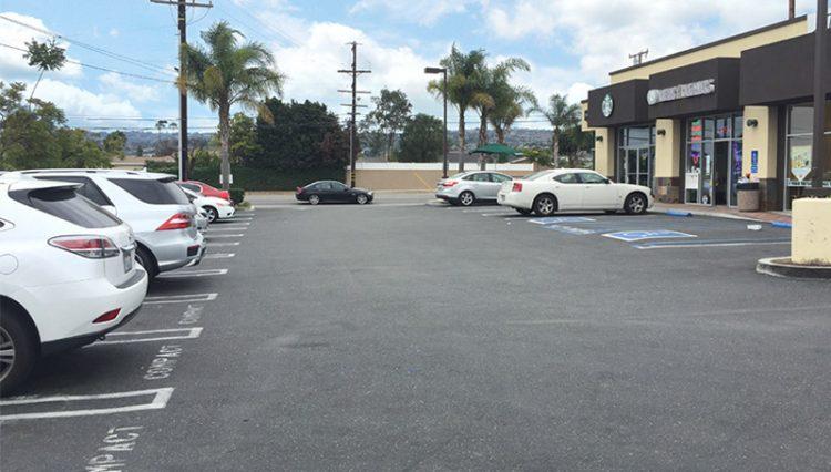 Parking Lot View of STARBUCKS DRIVE-THRU CENTER at 4437 Sepulveda Boulevard, Torrance, CA 90505