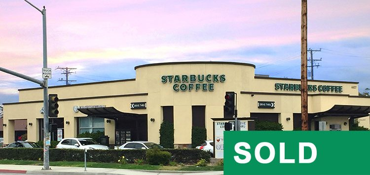 Street and Building View of STARBUCKS DRIVE-THRU CENTER at 4437 Sepulveda Boulevard, Torrance, CA 90505