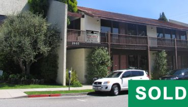 Exterior Street and Building Facade View of Multi-Unit Building with 27 Parking Spaces Sold at 2665 30th Street, Santa Monica, CA 90405