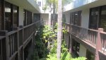 Exterior Courtyard Hallway View of Multi Unit with 27 Parking Spaces Sold at 2665 30th Street, Santa Monica, CA 90405