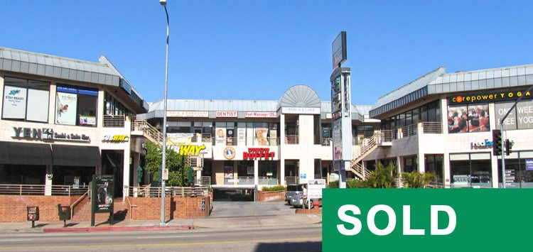 Exterior Building Facade and Signage View of Prime Retail Space Sold at 11819 Wilshire Boulevard, Los Angeles, CA 90025