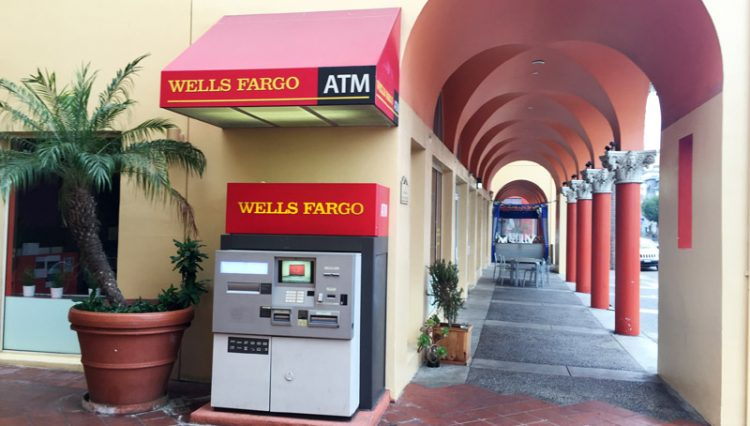Exterior Street, Building Facade and ATM Machine View of ATM Space For Lease at 245 Main Street, Venice, CA 90291
