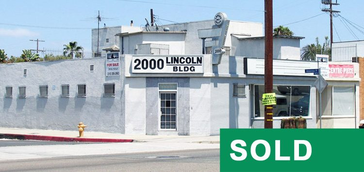 Par Commercial Brokerage - 2000 Lincoln Boulevard, Venice, CA 90291
