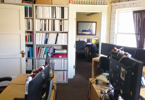 Interior Office Space View of Creative Office Space For Lease at 1930 11th Street, Santa Monica, CA 90404