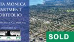 Aerial Views of Sold Property Portfolio in San Vicente and Santa Monica, CA
