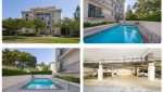 Exterior Space and Parking Lot Views of Sold Property Portfolio on San Vicente in Santa Monica, CA