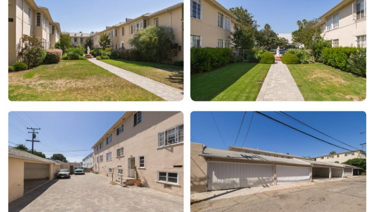 Exterior Street Views of Sold Property Portfolio on San Vicente in Santa Monica, CA