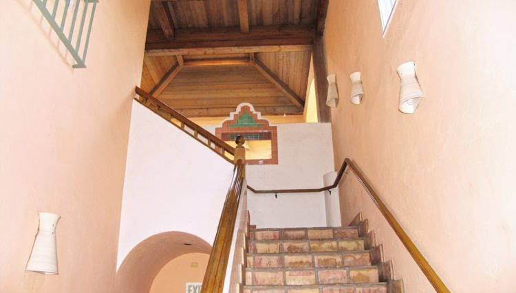 Interior Stairwell View of Office Space For Lease - Par Commercial Brokerage - 2656 29th Street #202, Santa Monica, CA 90405