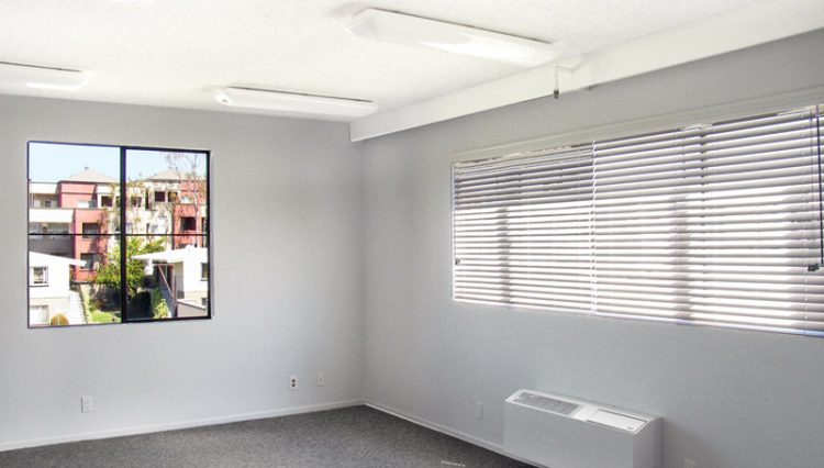 Interior Main Office Space View of Office Space For Lease - Par Commercial Brokerage - 10720 McCune Avenue, Los Angeles, CA 90034