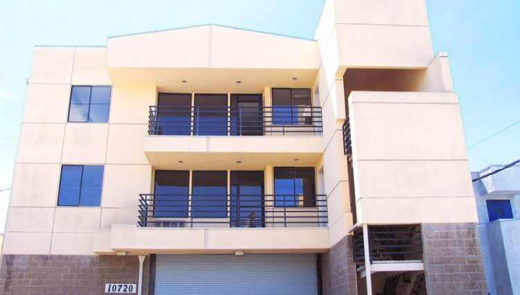 Exterior Balcony Space of Office Space For Lease - Par Commercial Brokerage - 10720 McCune Avenue, Los Angeles, CA 90034