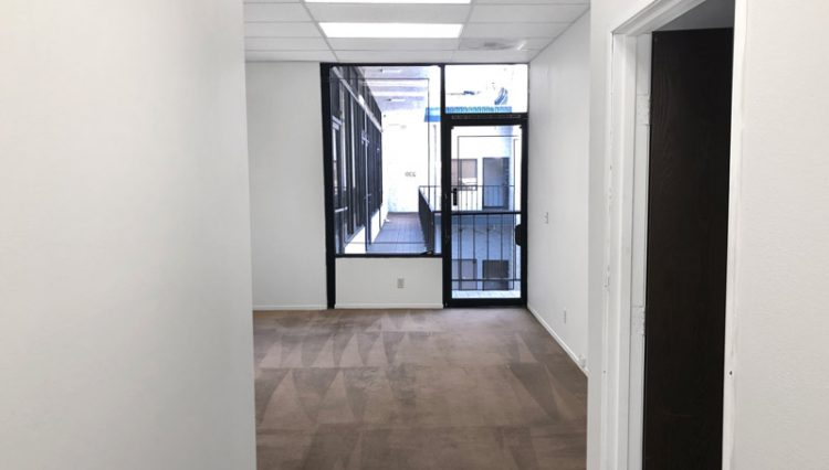 Interior Hallway View of Office Space for Lease at 1600 Sawtelle Boulevard, Unit 102 & Unit 237, Los Angeles, CA 90025