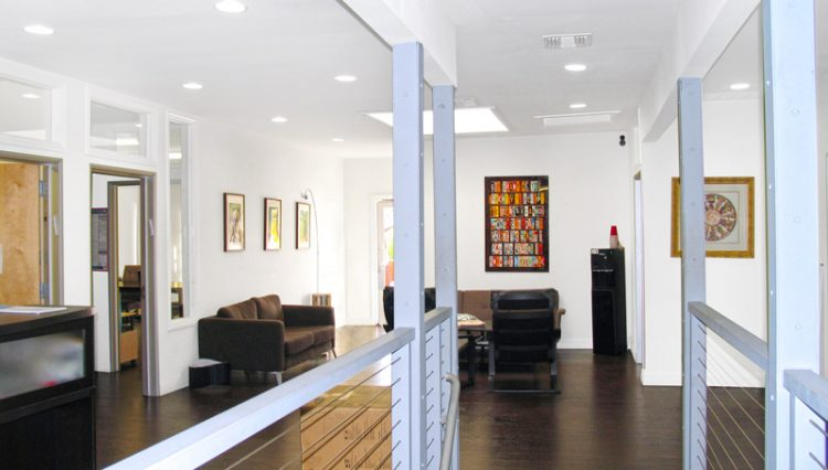 Interior Lobby View of Creative Office Space For Lease at 2315 Westwood Boulevard, Los Angeles, CA 90064