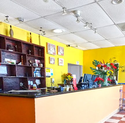 Interior Service Counter View of Business Opportunity Napoli Pizza at 14617 Crenshaw Boulevard, Gardena, CA 90249
