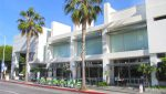 Exterior Street and Facade View of CAFE/RESTAURANT SPACE FOR SUBLEASE at 120 Wilshire Boulevard, Santa Monica, CA 90401