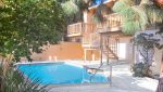 Exterior View of an Apartment pool at 811 to 813 18th Street, Santa Monica, CA 90403