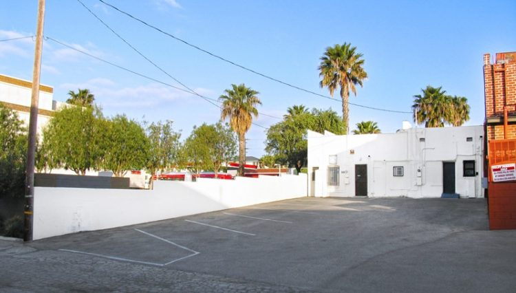 Exterior Parking Lot View of Business Sold at 2624 to 2636 Wilshire Boulevard, Santa Monica, CA 90403