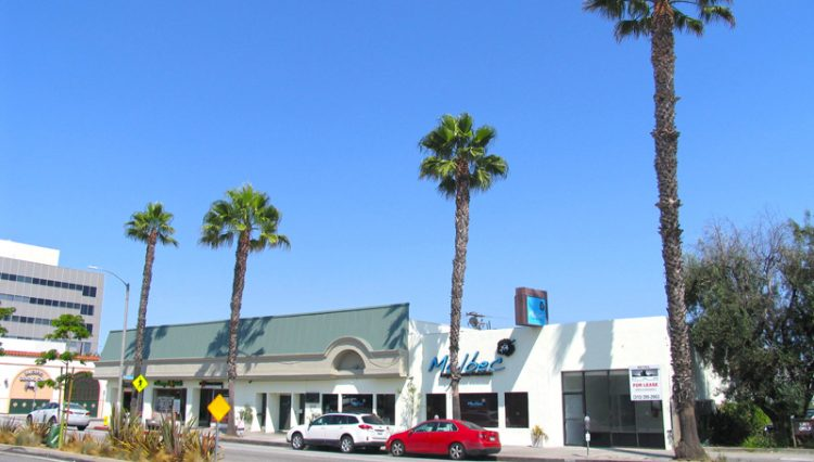 Storefront Street View of Business Sold at 2624 to 2636 Wilshire Boulevard, Santa Monica, CA 90403
