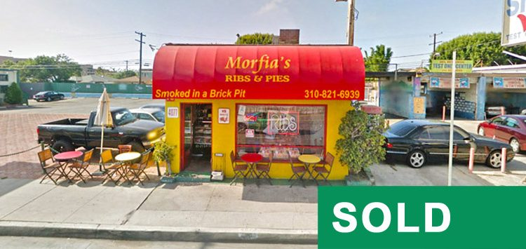 Street View of Restaurant at 4077 Lincoln Boulevard, Marina Del Rey, CA 90292 Sold by Par Commercial Brokerage