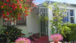 Front Entrance View of 3 Unit Apartment Building For Sale at 1044 Ocean Park Boulevard, Santa Monica, CA 90405