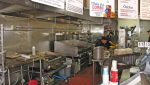 Client Facing Kitchen View of Restaurant Retail Space For Lease at 2002 Wilshire Boulevard, Santa Monica CA 90403