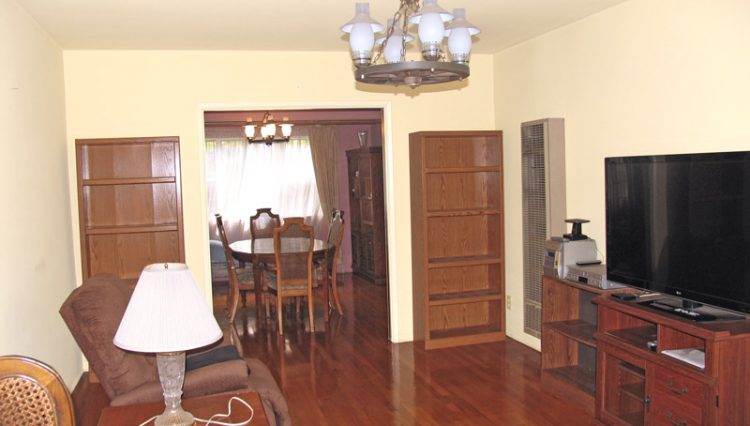 Living Room View of 3 Unit Apartment Building For Sale at 1044 Ocean Park Boulevard, Santa Monica, CA 90405