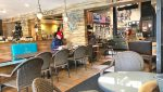 Interior Coffee Shop View of Restaurant Space For Lease at 356 7th Street, San Pedro, CA 90731