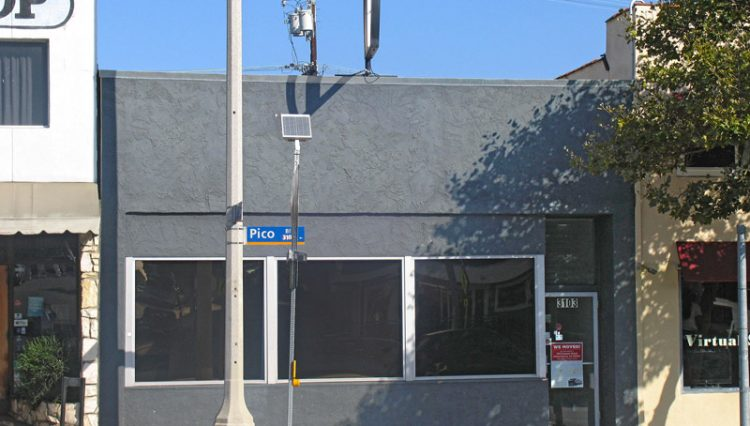 Exterior Street View of Retail Space For Lease at 3103 Pico Boulevard, Santa Monica, CA 90405