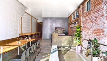 Dining Room View of Restaurant For Sale at 218 Main Street, Venice, CA 90291