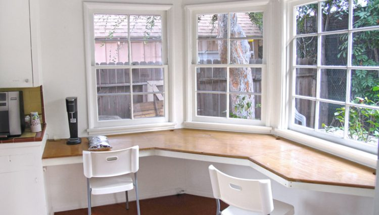 Interior Kitchen Office View of House for Lease with Retail Office Zoning at 1151 25th Street, Santa Monica, CA 90403