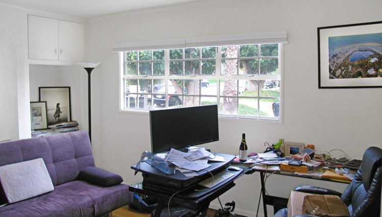 Interior Office View of House for Lease with Retail Office Zoning at 1151 25th Street, Santa Monica, CA 90403