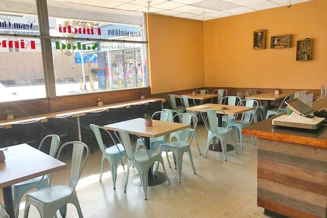 Interior Dining Room View of Business for Sale at 1707 Pico Boulevard, Santa Monica, CA