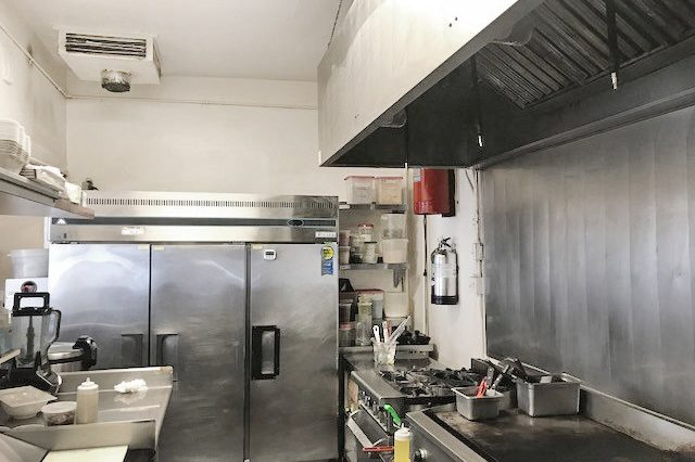 Interior Kitchen View of Business for Sale at 1707 Pico Boulevard, Santa Monica, CA
