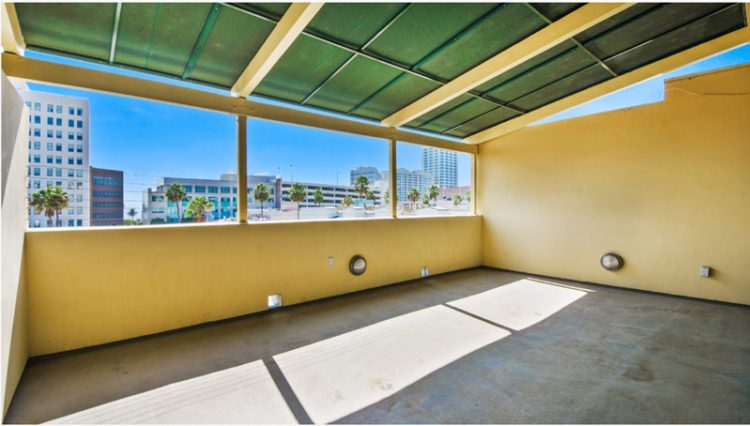 Exterior Balcony View of Penthouse Office Space for Lease at 321 Santa Monica Boulevard, Unit 300, Santa Monica, CA 90401