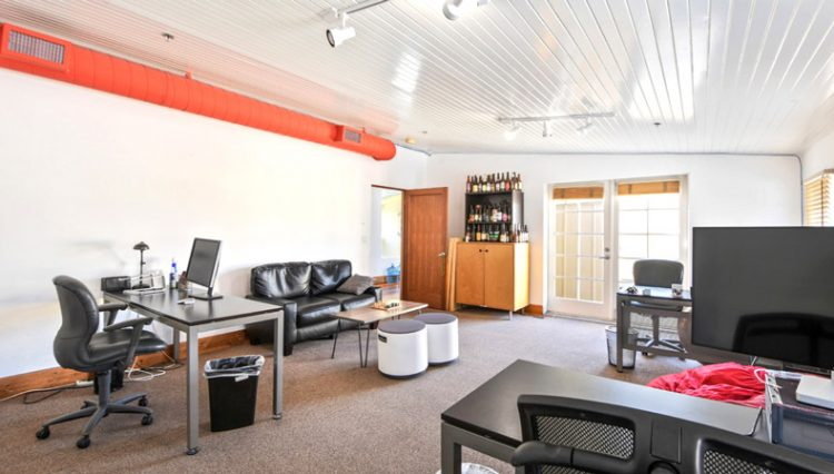 Interior Common Workspace View of Penthouse Office Space for Lease at 321 Santa Monica Boulevard, Unit 300, Santa Monica, CA 90401