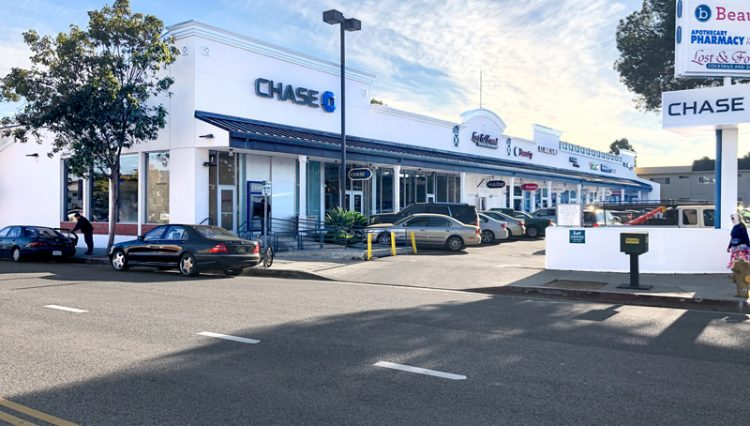 Exterior View of Retail Space for Lease at 11700 National Boulevard, Suite N, Los Angeles, CA 90064