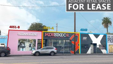Street View of Retail Space for Lease at 4049 - 4051 Lincoln Boulevard, Marina Del Rey, CA 90292
