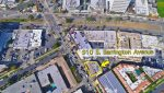 Aerial View of Office/Retail Space for Sale at 910 to 916 S. BARRINGTON AVENUE, Los Angeles, CA 90049