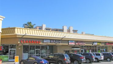 front of cleaners at Par Commercial Brokerage - 9836 National Boulevard, West Los Angeles, CA 90034