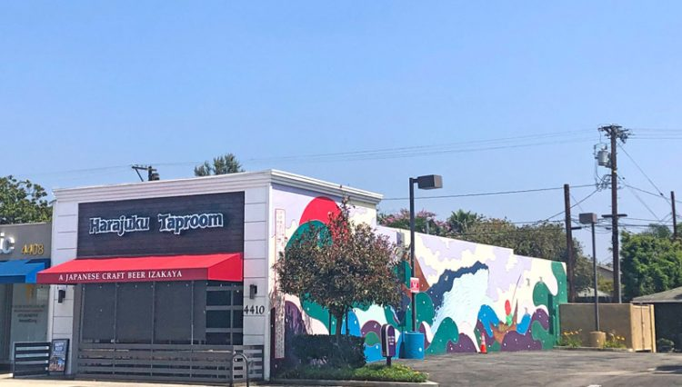Exterior Street and parking lot For Sale - Par Commercial Brokerage - 4410 Sepulveda Boulevard, Culver City, CA 90232